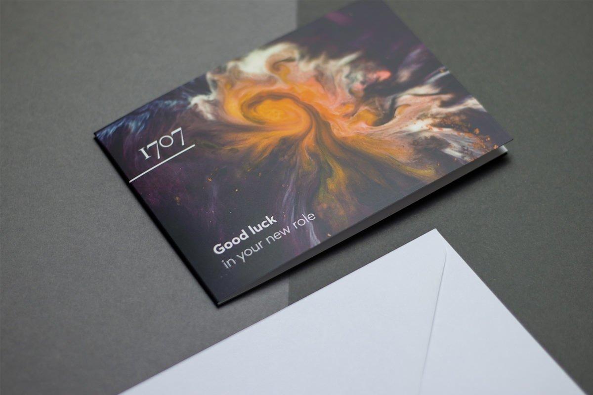1707 Brand Design Card