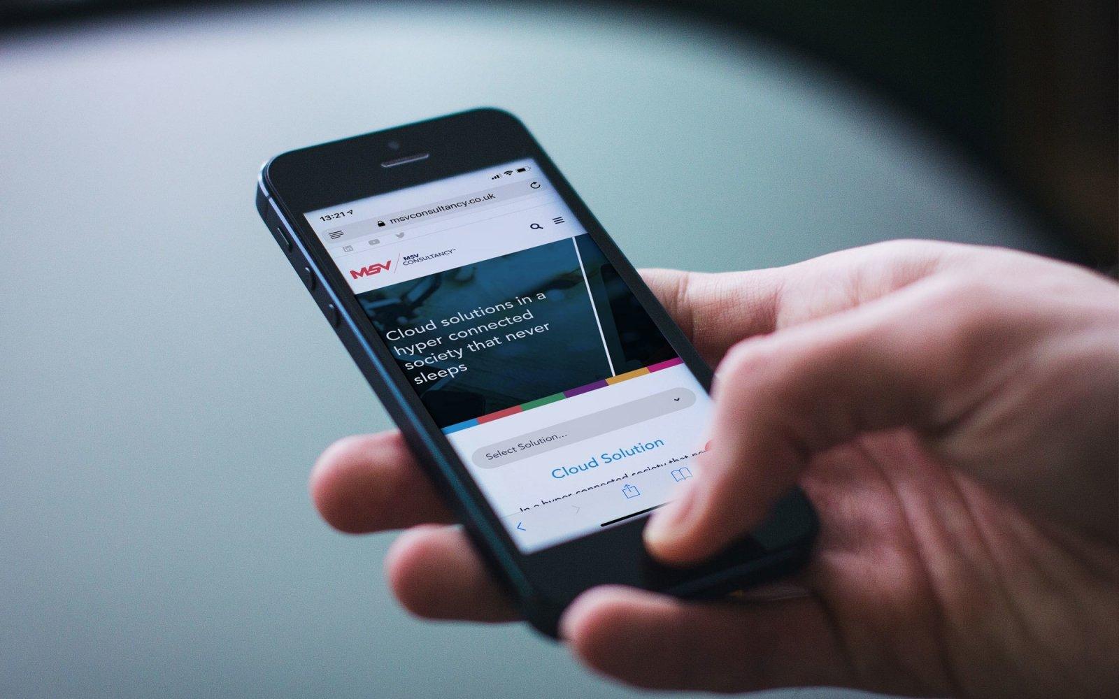 Msv Mobile Site
