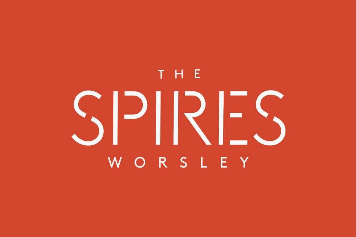The Spires Worsley Logo