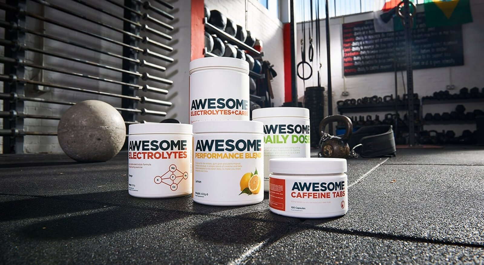 Awesome supplements brand photography