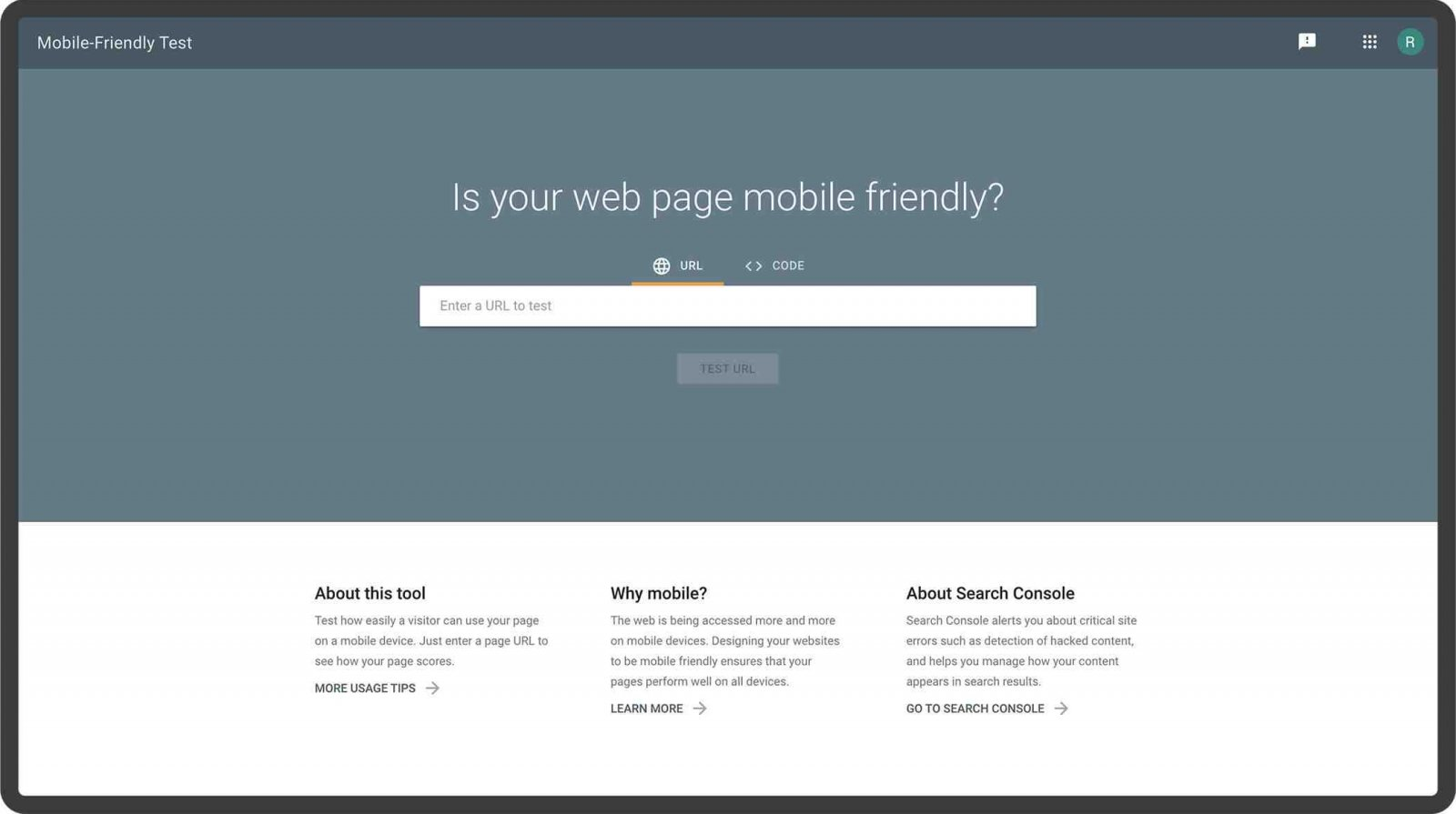 Grow your business mobile first website design