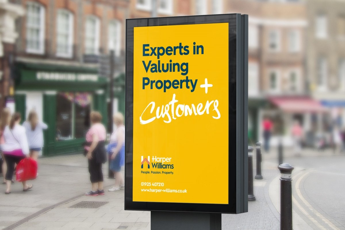 Harper Williams Estate Agency Branding 5