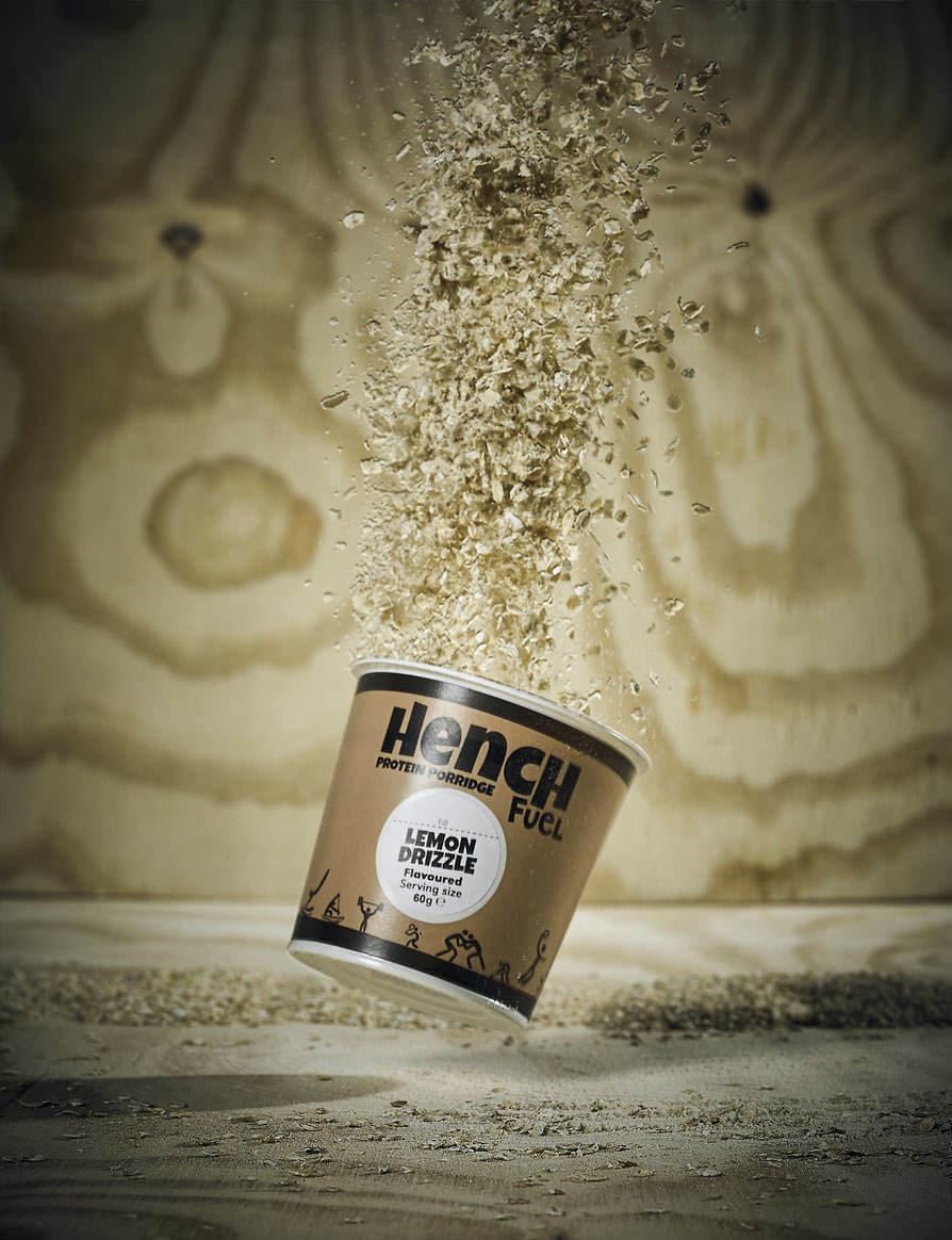 Food Branding For Hench Fuel Mobile